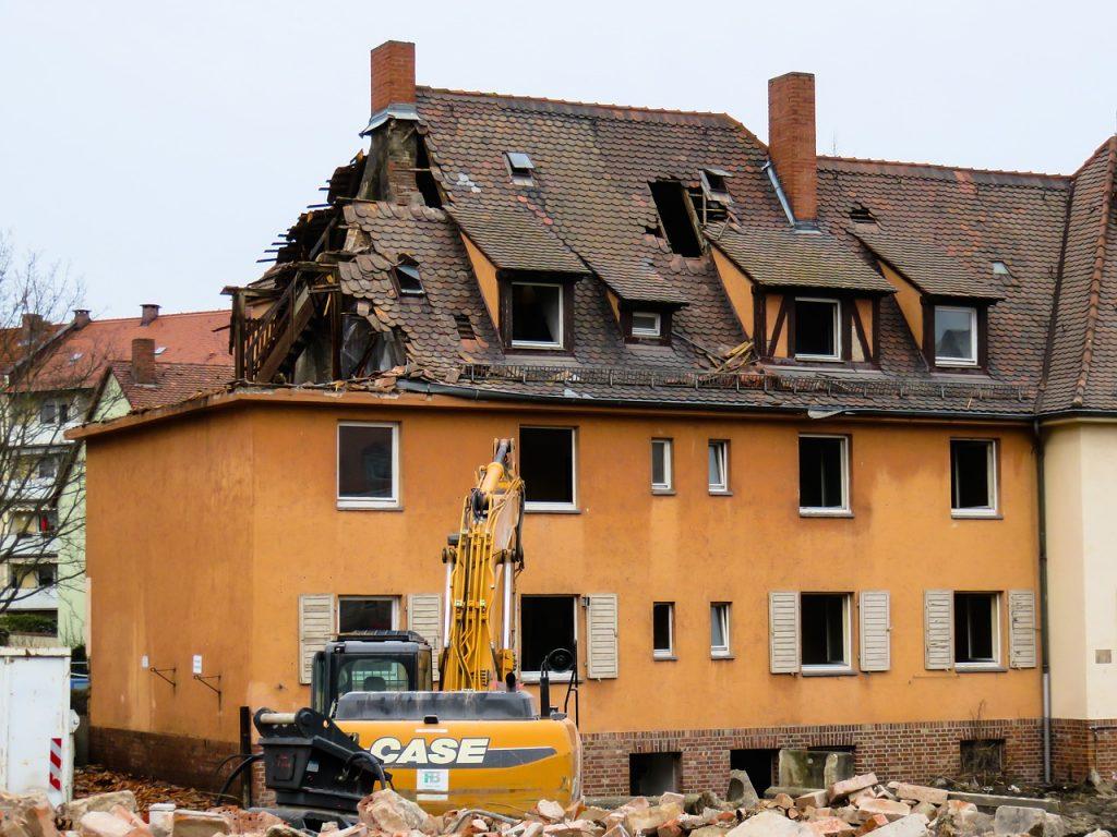 Bauschutt entsorgen nach Umbau oder Abriss